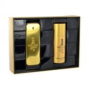 Paco Rabanne 1 Million 100Ml Edt 100Ml + 150Ml Deodorant Per Uomo (Eau De Toilette)