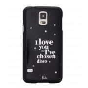 Fab Smartphone covers Disco Glitter Hardcase Galaxy S5 Zwart