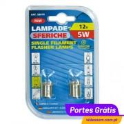 LAMPA R5W ( 2 Lâmpadas )
