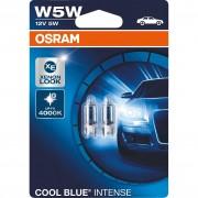 Izzó 12V/5W W5W fehér Cool Blue Intense Osram 2825HCBI-02B