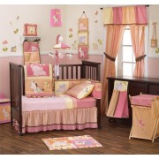 Kids Line Tropical Punch 5pcs Bed Set
