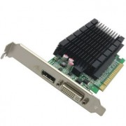 Placa video Fujitsu GeForce 605 DP 1 GB DDR3 - second hand