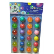 Toysdelivery Crazy ball Set (Multicolour) - 24 Balls