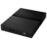 Жесткий диск Western Digital My Passport 2.5 4Tb USB 3.0 Black WDBUAX0040BBK-EEUE