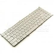 Tastatura Laptop Dell Adamo AESS5U00020 argintie iluminata + CADOU