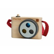 Camera foto cu 3 lentile colorate