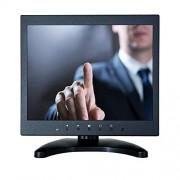 """iChawk W097MT-592R/9.7"""" pulgadas 1024x768 4:3 visualización IPS positiva, HDMI, VGA, USB, carcasa de metal integrada, altavoz industrial médico de cuatro cables, resistente al tacto, monitor de visualización LCD para PC"""