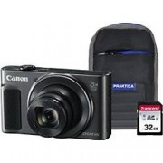 Canon Digital Camera PowerShot SX620 HS 21.1 Megapixel Black + 1 x 32GB SD Card, 1 x Case