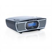 Auna Dreamee DAB+, часовник радио, CD плеър, DAB+/FM, CD-R/RW/MP3, AUX, ретро, черно (MG-Dreamee DAB+ BK)