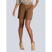 Alba Moda Shorts, Damen, braun, in modischer Länge