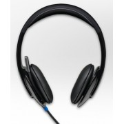 HEADPHONES, LOGITECH H540, Microphone (981-000480)