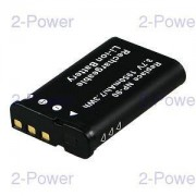 2-Power Digitalkamera Batteri Casio 3.7v 1600mAh (NP-90)