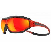 Adidas Tycane Pro Outdoor Small - occhiali sportivi - Red/Red