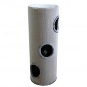vidaXL Căsuță din sisal pentru pisici, 100 cm, gri