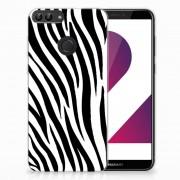 B2Ctelecom Huawei P Smart TPU Hoesje Zebra