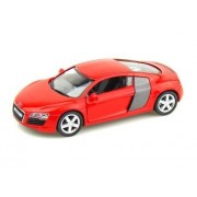 Jack Royal 1/36 Scale Audi R8 Metal Diecast Car - RED (Color May Vary as per The Stock) 13 * 5 * 4 cm