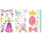 Dzine Glitter Tattoo Stickers / Temporary Tattoos Princess