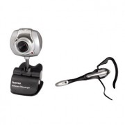 Komplet PC Webcam i slušalice sa mikrofonom AC-140 11596 HAMA