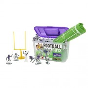 Kaskey Kids Kansas State Football Guys - Inspires Imagination with Open-Ended Play - Includes 2 Full Teams and More - For Ages 3 and Up
