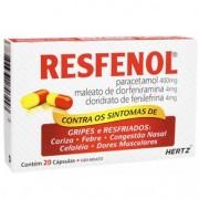 Resfenol 20 cápsulas kley hertz