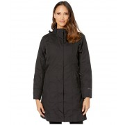 Eddie Bauer Girl On The Go Insulated Trench Coat Black