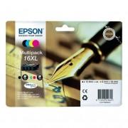Epson MULTIPACK ORIGINALE EPSON T1636XL C13T16364012 PER EPSON WF2010W 2510WF 2520NF 2530WF C13T16364012 16XL T1631 T1632 T1633 T1634