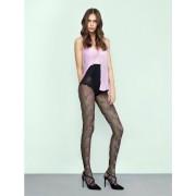 Ciorapi cu model Fiore Pink Punk 20 den