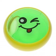 Phenovo Kids Magic Slime Toys Dust Cleaning Glue Slimy Gel for Computer Laptop Keyboard Car Air Vent - Green Clear Smiling Face