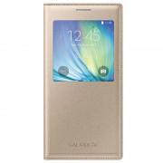 Capa com Cobertura S-View EF-CA700BFEGWW para Samsung Galaxy A7 - Dourado