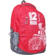 U United Royal Rider Waterproof Backpack(Red, 14 L)