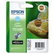 Epson T03454010 Tintapatron StylusPhoto 2100 nyomtatóhoz, EPSON világos kék, 17ml Eredeti kellékanyag