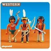 Playmobil 3 Native American Warriors 6272