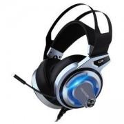 Геймърски слушалки Microlab G3 с микрофон, черен/син, G3_VZ