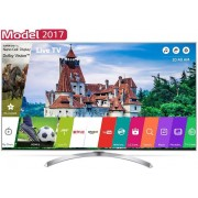 "Televizor Super UHD LG 125 cm (49"") 49SJ810V, Ultra HD 4K, Smart TV, webOS 3.5, WiFi, CI + Cartela SIM Orange PrePay, 6 euro credit, 4 GB internet 4G, 2,000 minute nationale si internationale fix sau SMS nationale din care 300 minute/SMS internationale mo"