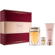 Cartier La Panthere lote de regalo III eau de parfum 75 ml + crema corporal 100 ml + eau de parfum 6 ml