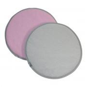 Vitra - Seat Dots Sitzauflage, pink sierragrau / hellgrau sierragrau