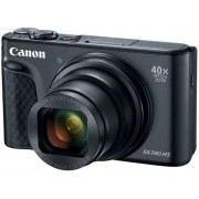 Aparat Foto Digital Canon PowerShot SX740 HS, 20.3 MP, Filmare Ultra HD 4K, Zoom optic 40x (Negru)
