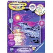 Детска игра, Рисувателна галерия, Делфини на залез, 7028558