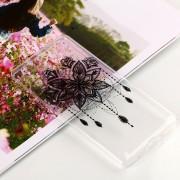 Para Nokia 7 Plus Bead Windbell Patrón Claro TPU Suave Aceite En Relieve Nuevo Estuche Protector