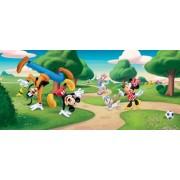 Fototapet Disney Mickey si Pluto Jonglerii - 202 x 90 cm