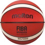 Minge baschet Molten, aprobata FIBA, cauciuc, marime 5