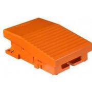 întreruptor pedală simplu - ip66 - fără capac - metalic - portocaliu - 2ni + 2nd - Comutator de picior - Harmony xpe - XPER229 - Schneider Electric