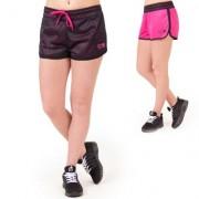 Gorilla Wear Madison Reversible Shorts, Black/Pink