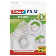 tesa SE tesafilm® matt-unsichtbar + Handabroller transparent, Blister