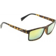I-Gogs Rectangular Sunglasses(Yellow, Multicolor)
