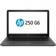 Laptop HP 250 G6 15.6 inch HD Intel Celeron N3350 4GB DDR3 500GB HDD DVDRW Dark Ash Silver