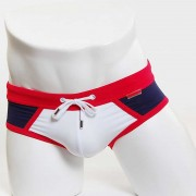 MIIW Fira String Bikini Swimwear Red/White/Navy 4924-12