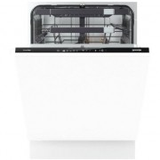 Masina de spalat vase Gorenje SmartFlex GV67260, Total incorporabila, 16 Seturi, Clasa A+++, IonTech, Inverter, 60 cm, Alb