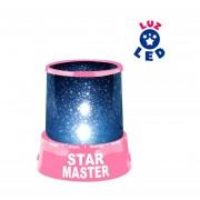 Lampara Proyector De Estrellas De Luz LED - Color Rosa