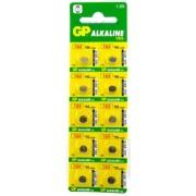 Baterii Alcaline tip buton AG1 10buc/blister GP